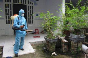 Khử trùng, diệt khuẩn môi trường
